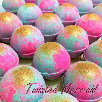 Twisted Mermaid 5.5 oz Bath Bombs